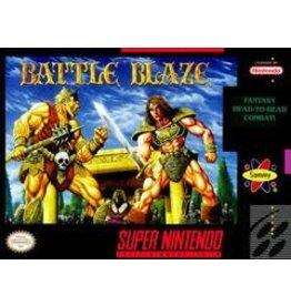 Super Nintendo Battle Blaze (Sunfaded Cart, Cart Only)
