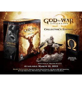 Playstation 3 God of War Ascension Collector's Edition (Brand New)