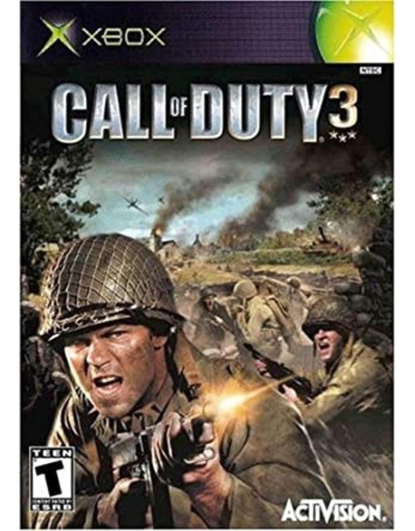 Xbox Call of Duty 3 (CiB)