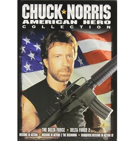 Cult and Cool Chuck Norris American Hero Collection