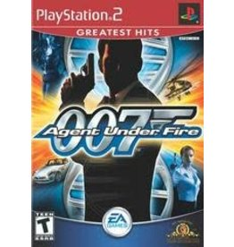 Playstation 2 007 Agent Under Fire (Greatest Hits, CIB)