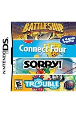 Nintendo DS Battleship / Connect Four / Sorry / Trouble (Cart Only)
