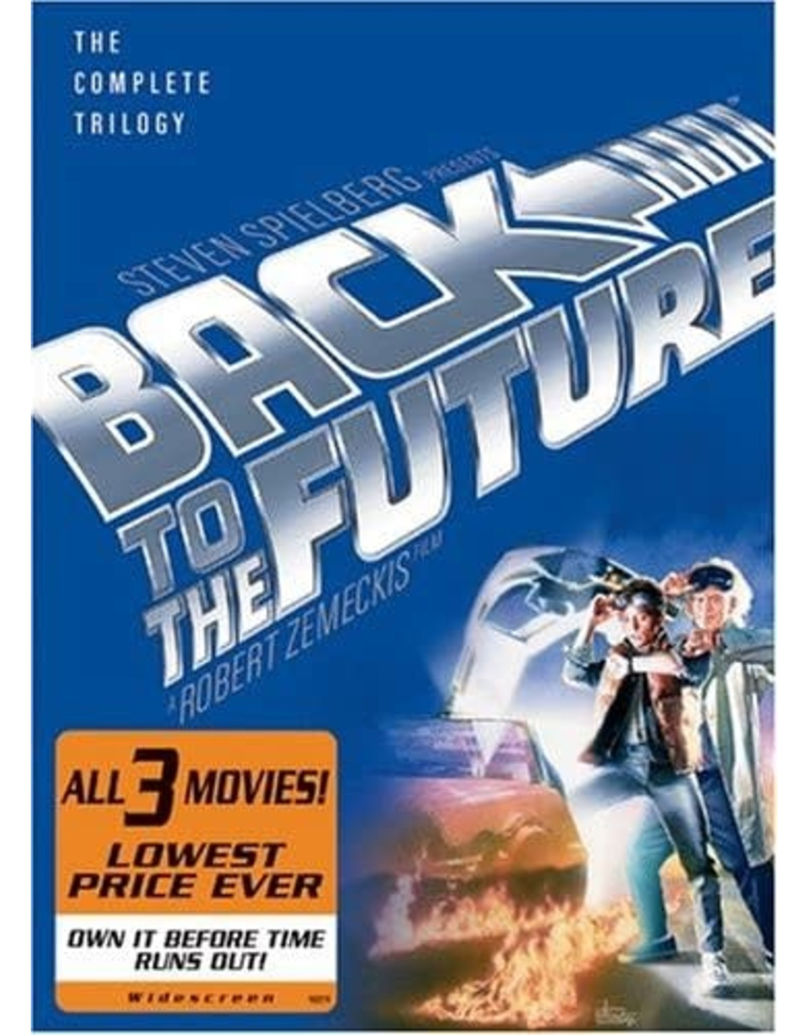 Cult and Cool Back to the Future The Complete Trilogy