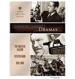Film Classics Essential Classics Dramas The Maltese Falcon / Citizen Kane / Ben-Hur