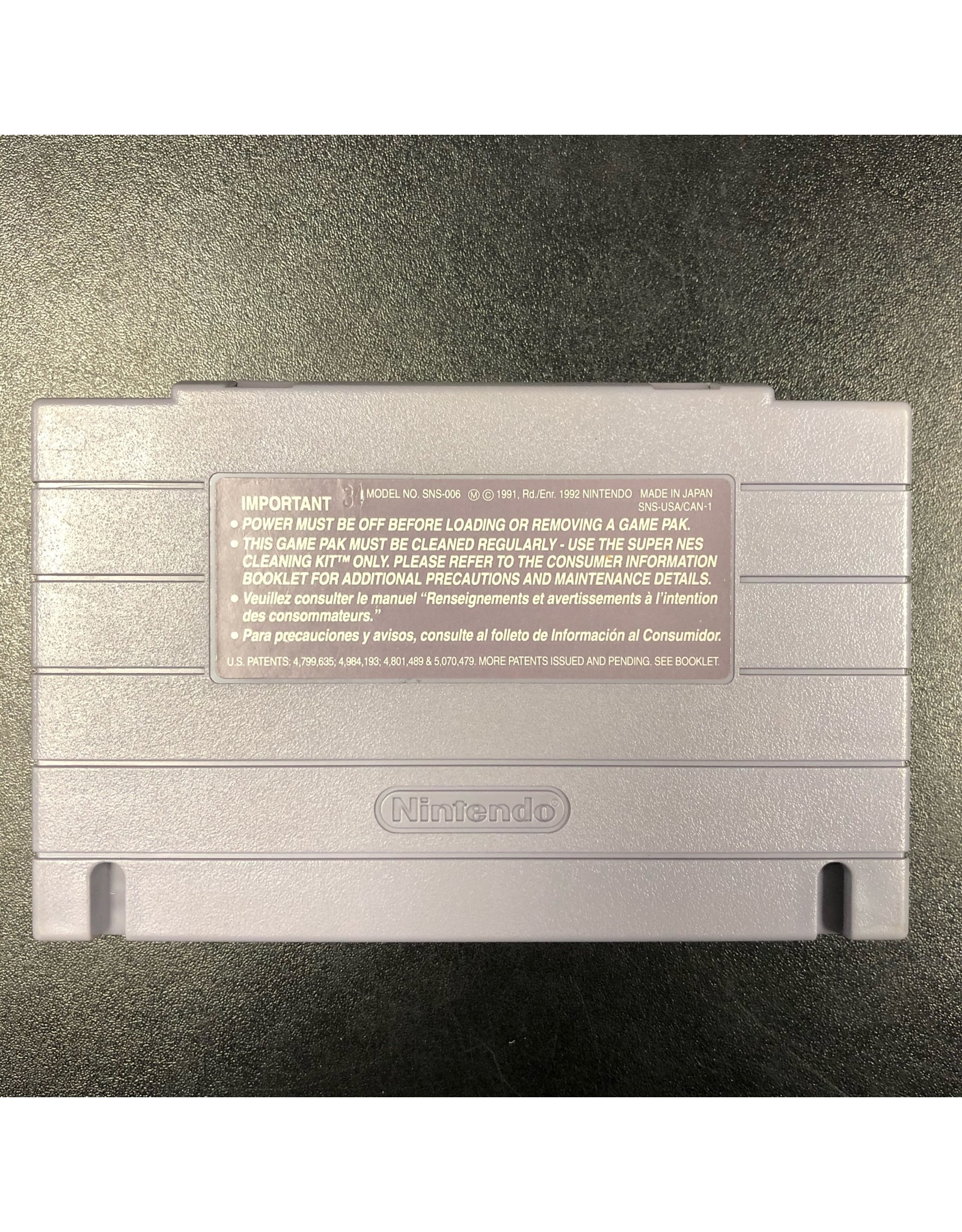 Super Nintendo Aero Fighters (Cart Only)
