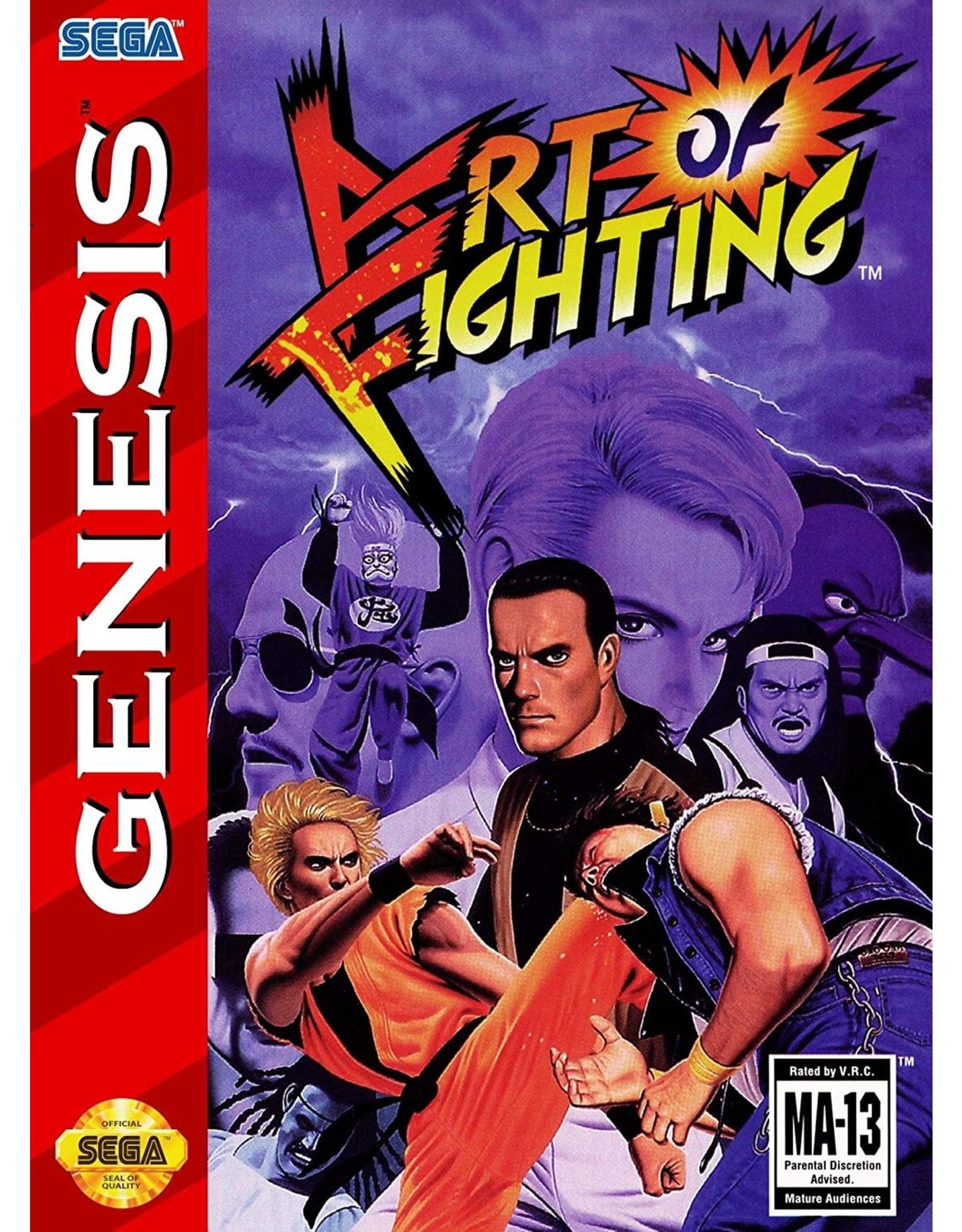 Sega Genesis Art of Fighting (Cart Only)