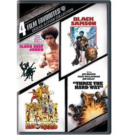 Cult and Cool 4 Film Favorites Urban Action Collection