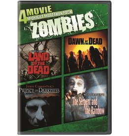 Horror Cult 4 Movie Midnight Marathon Pack - Zombies