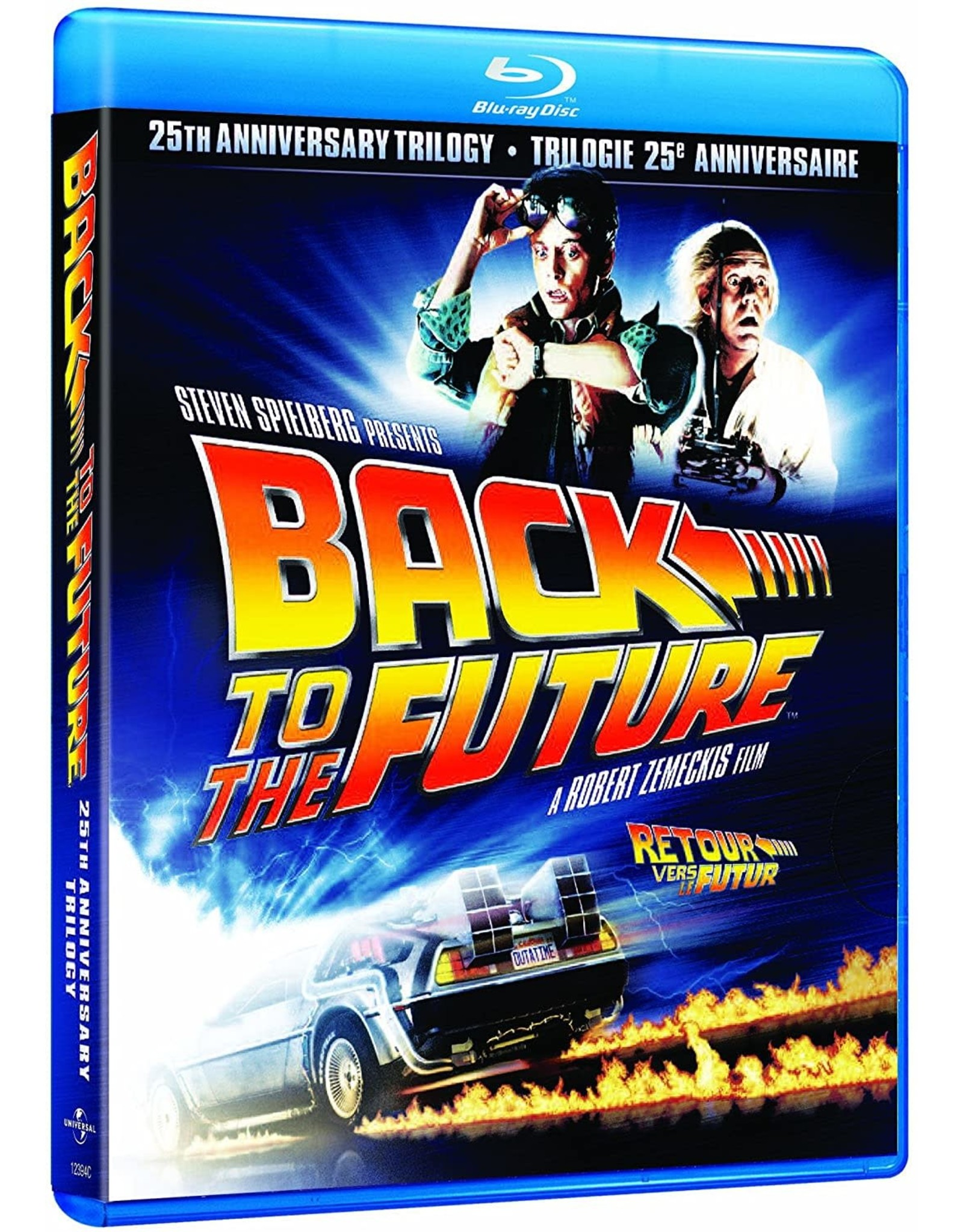 Cult and Cool Back to the Future 25th Anniversary Trilogy
