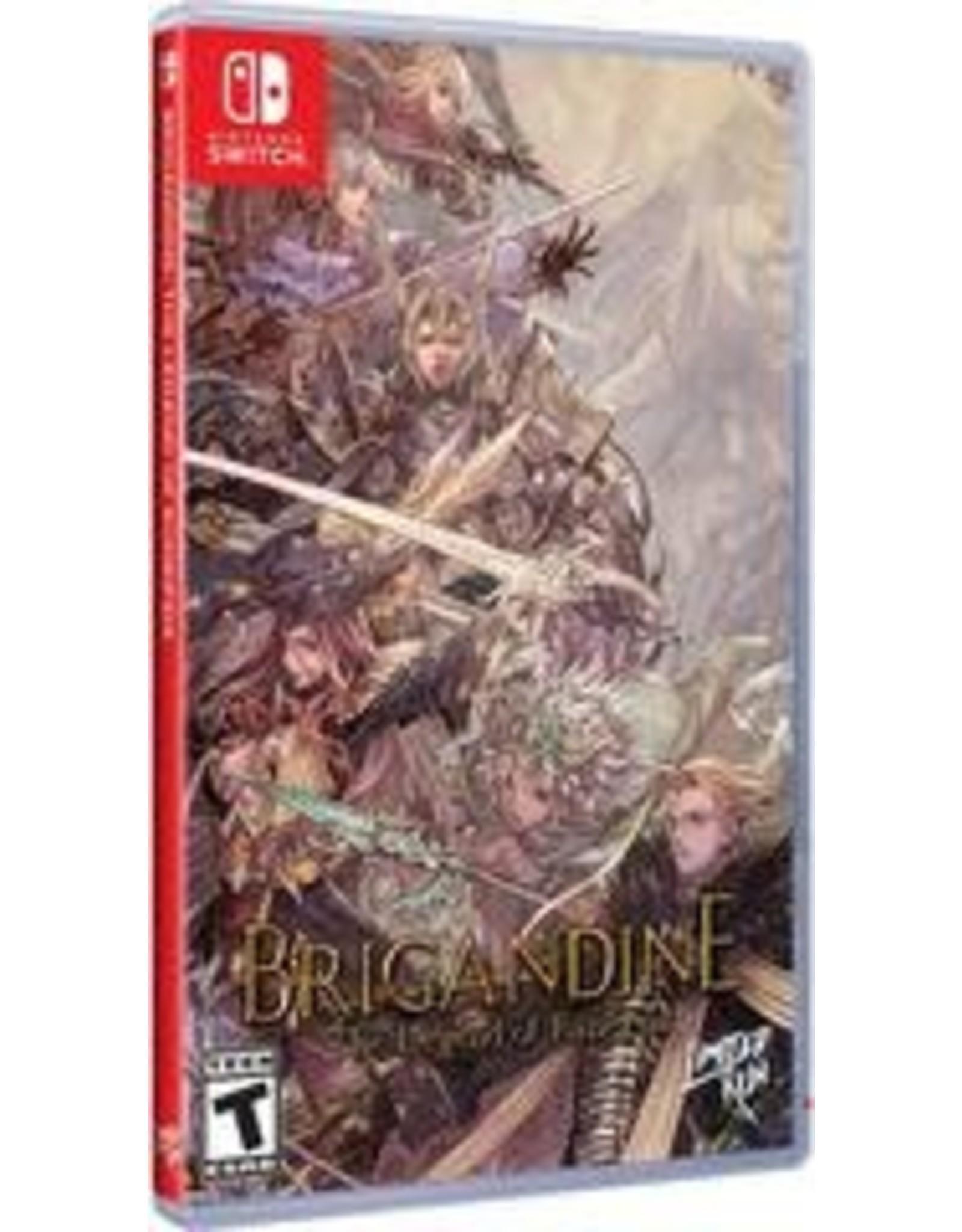 Nintendo Switch Brigandine: The Legend of Runersia (Used, LRG #71)
