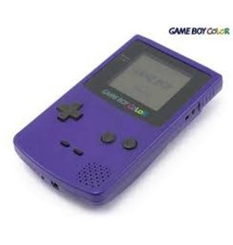 GameBoy Color Game Boy Color (Grape, New Screen)
