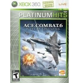 Xbox 360 Ace Combat 6 Fires of Liberation Platinum Hits (CIB)