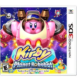 Nintendo 3DS Kirby Planet Robobot (New)