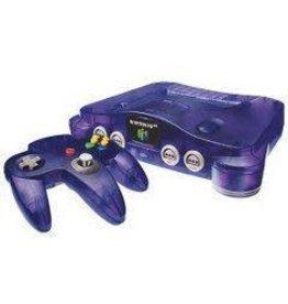 Nintendo 64 Funtastic Grape Purple Nintendo 64 Console