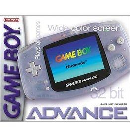 GameBoy Advance Gameboy Advance Console Glacier (CiB, New screen)