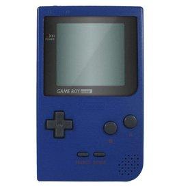 Gameboy Pocket Game Boy Pocket (Blue, New Screen, Mismatched Cover)