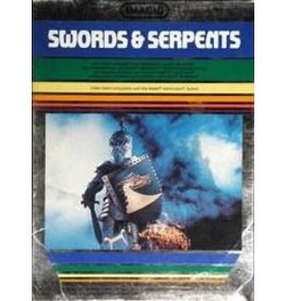 Intellivision Swords and Serpents (Cart Only)