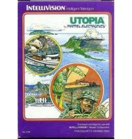 Intellivision Utopia (Cart Only, With Overlay)