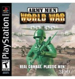 Playstation Army Men World War (No Manual)