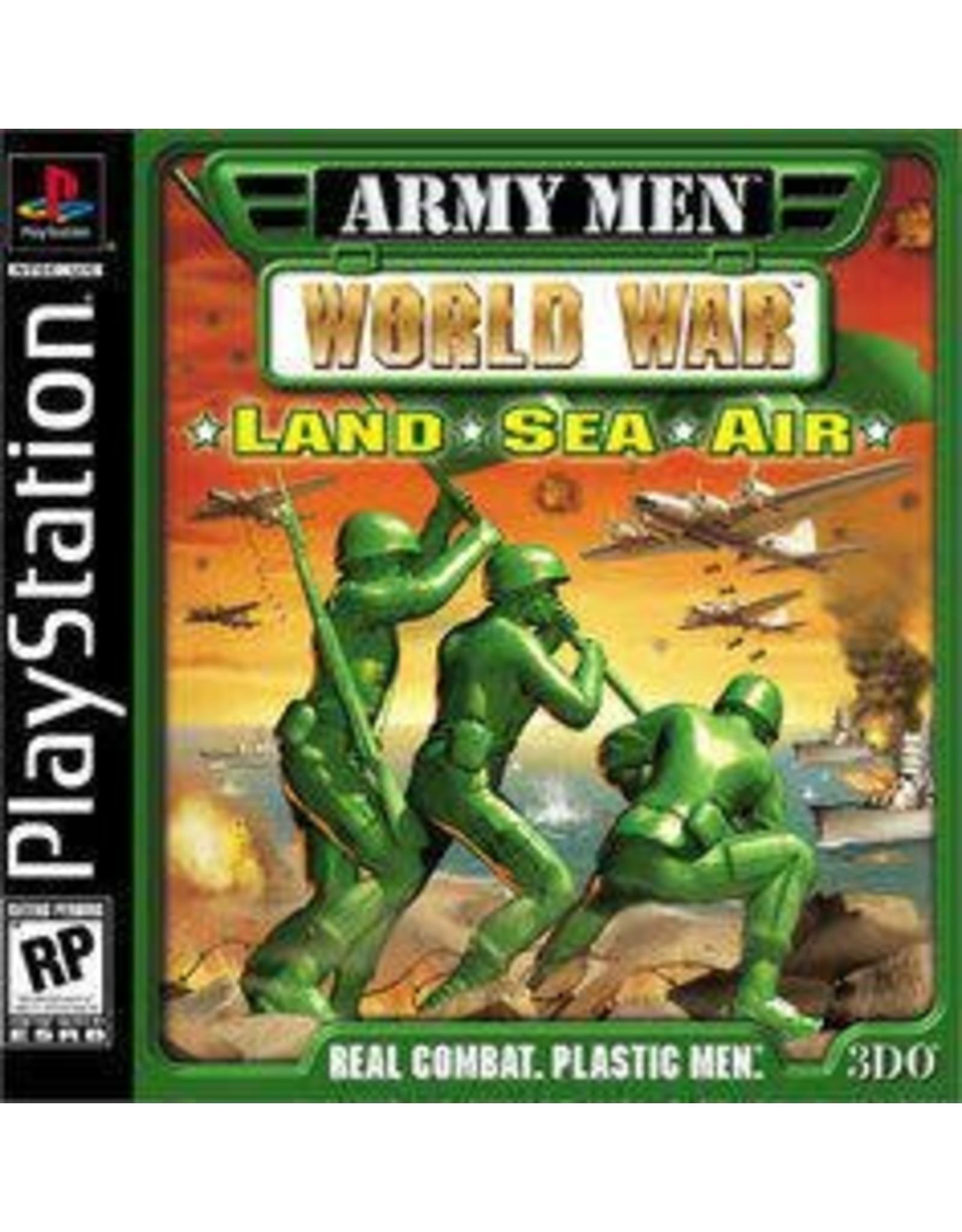 Playstation Army Men World War Land Sea Air (CiB)