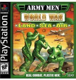 Playstation Army Men World War Land Sea Air (CiB)