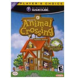 Gamecube Animal Crossing (Player's Choice, CIB, No Memory Card)
