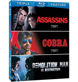 Cult and Cool Assassins / Cobra / Demolition Man Triple Feature