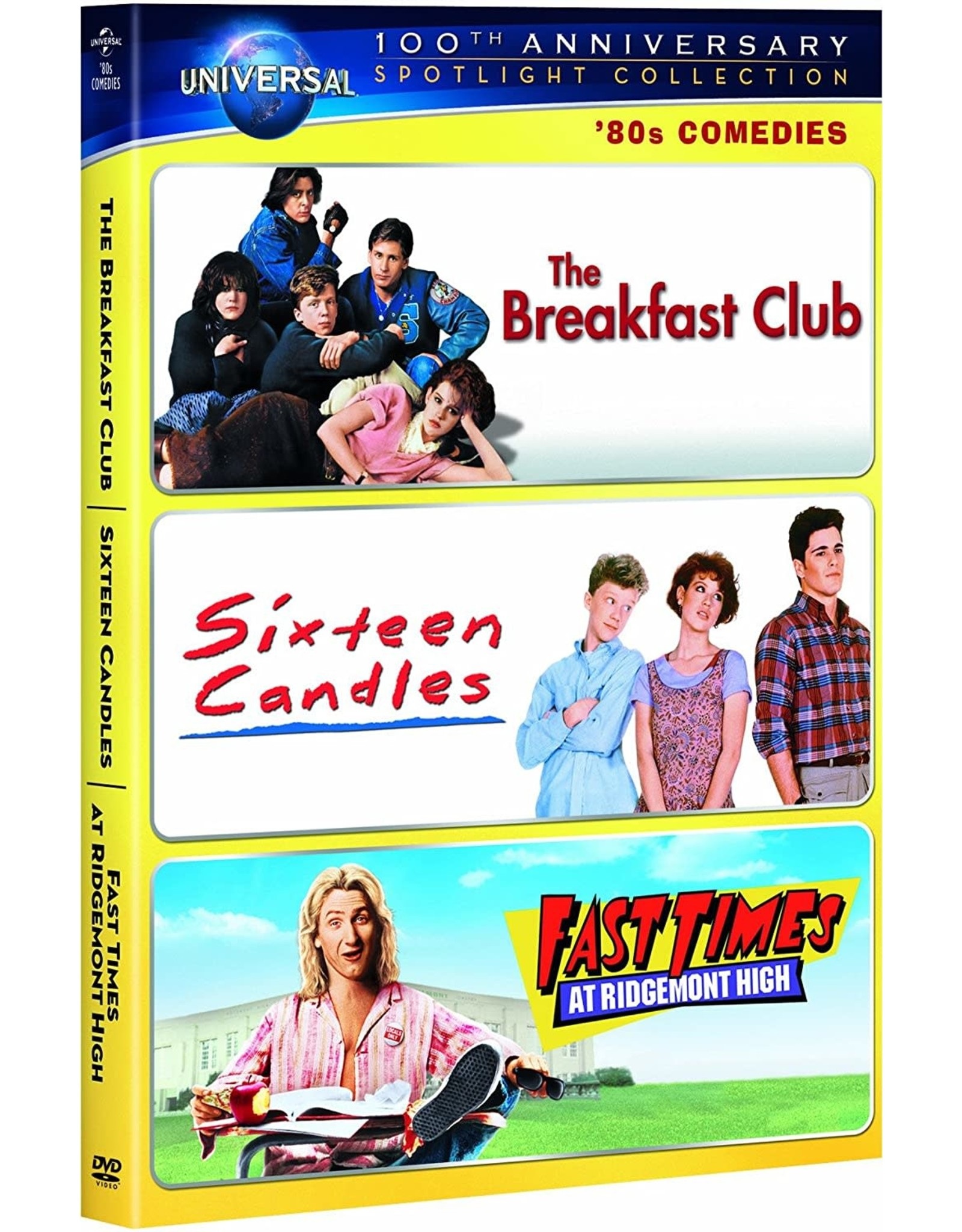 Cult and Cool Breakfast Club, The / Sixteen Candles / Fast Times at Ridgemont High