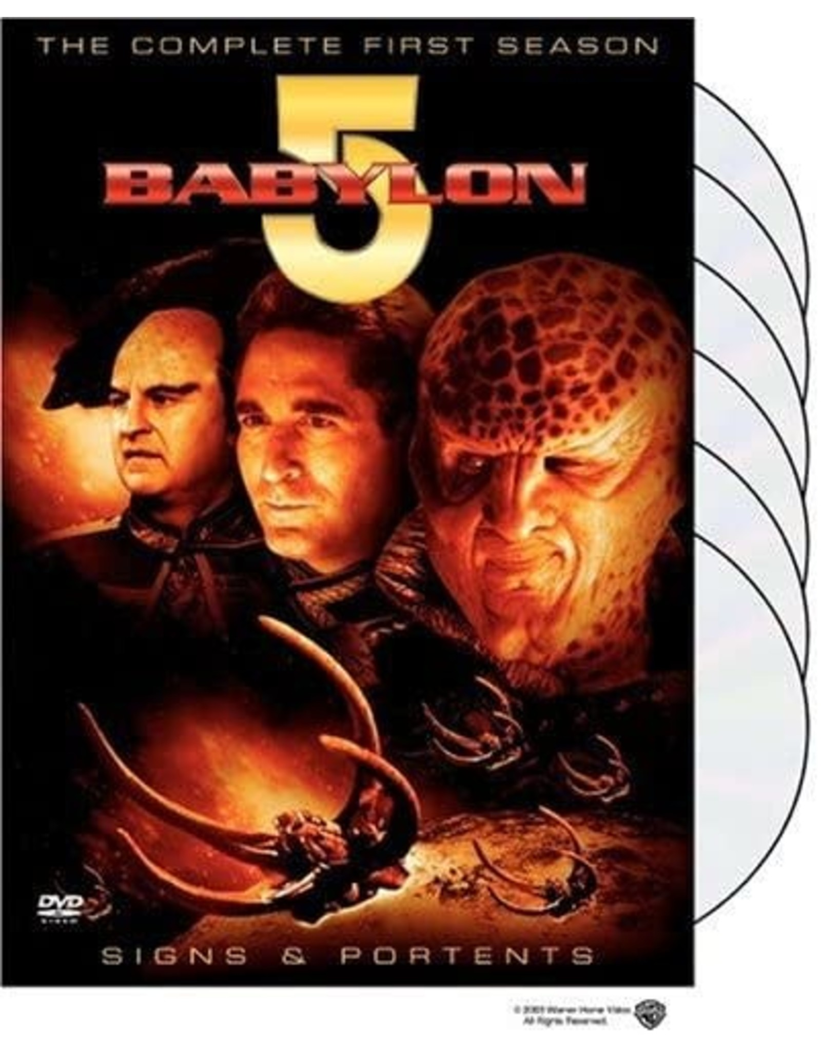 Cult and Cool Babylon 5 The Complete First Season