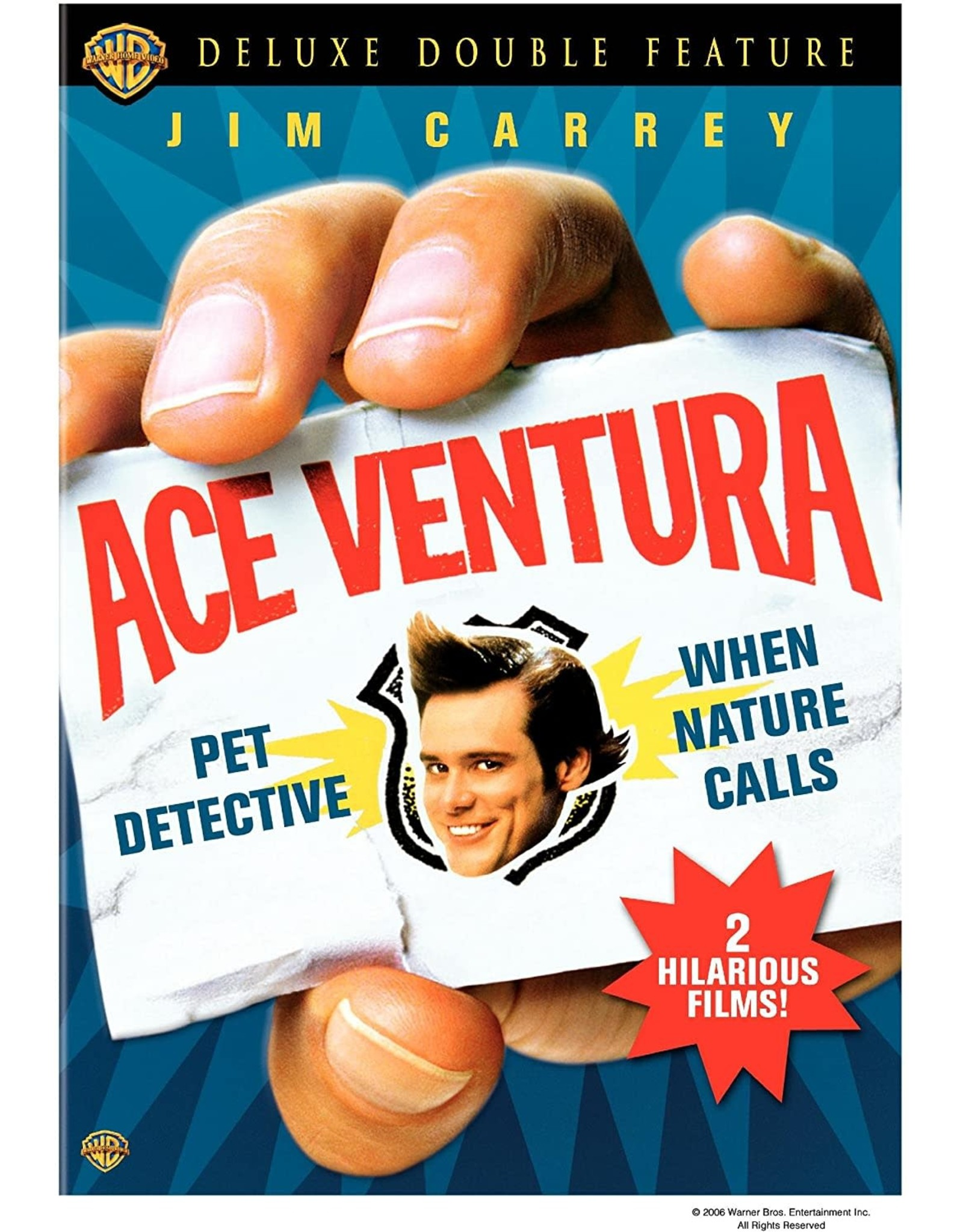 Cult and Cool Ace Ventura Deluxe Double Feature