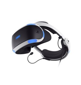 Playstation 4 Playstation VR Headset (Version 2, 2x Motion controllers & Demo Disc)