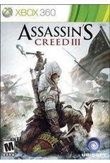Xbox 360 Assassin's Creed III (No Manual)