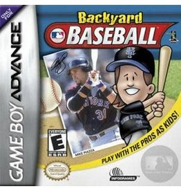 GameBoy Advance Backyard Baseball (Cart Only)