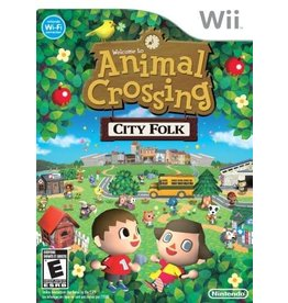 Wii Animal Crossing City Folk & Wii Speak Bundle (No Box)