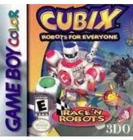 GameBoy Color Cubix Robots for Everyone Race N Robots (CiB)