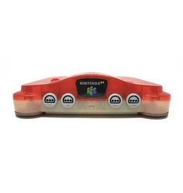 Nintendo 64 Funtastic Watermelon Red Nintendo 64 Console (JPN Import, Can play NA Games, Used)