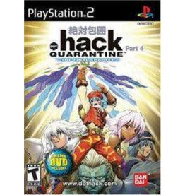 Playstation 2 .hack Quarantine (No Manual)