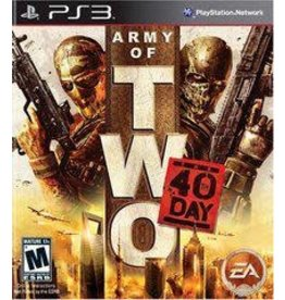 Playstation 3 Army of Two: The 40th Day (No Manual)