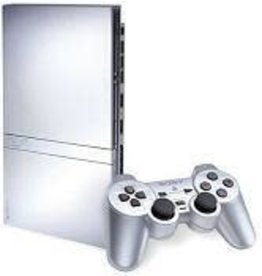 Playstation 2 PS2 Slim Playstation 2 Console (Silver, with Memory Card)