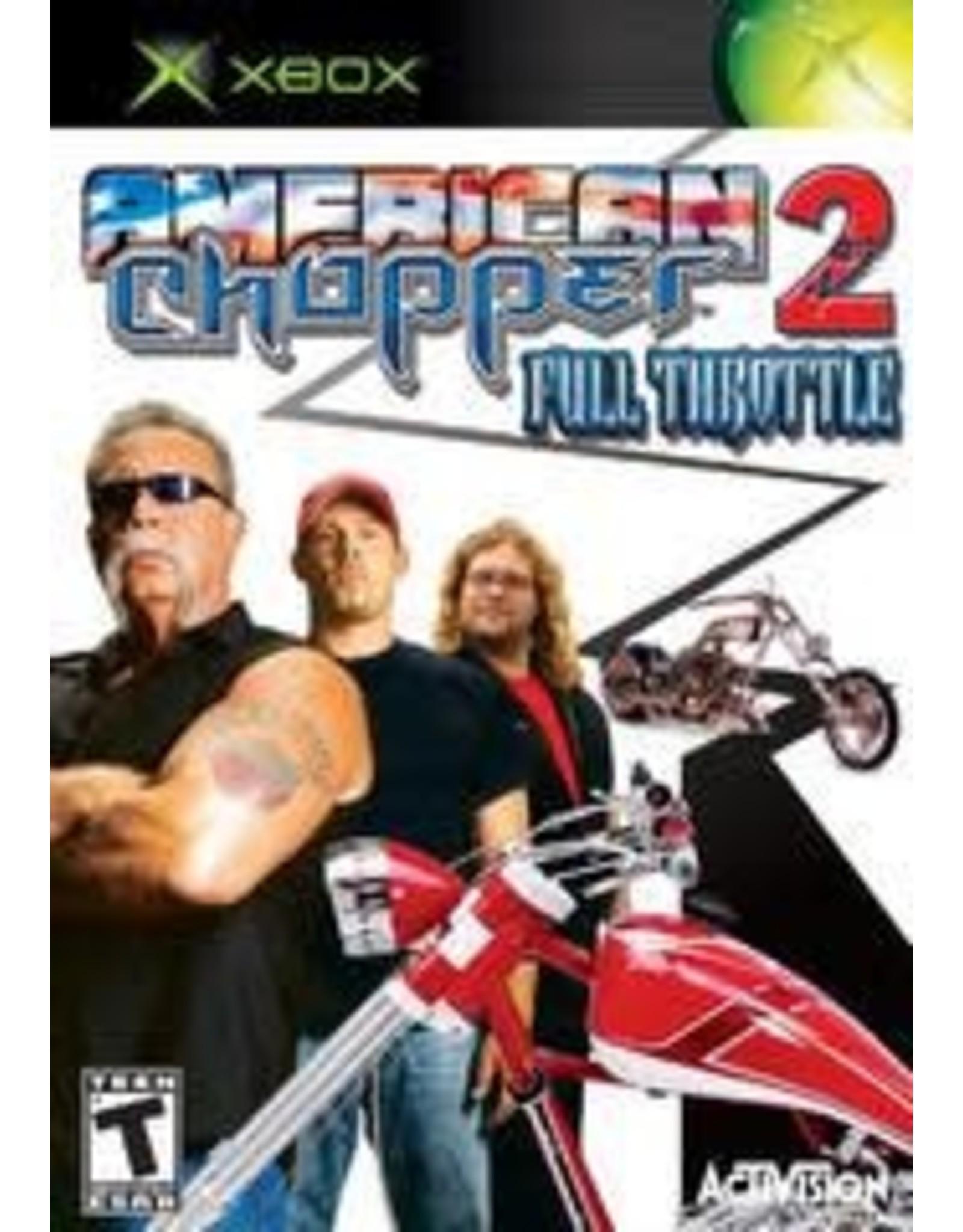 Xbox American Chopper 2 Full Throttle (CiB)