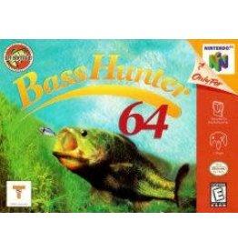 Nintendo 64 Bass Hunter 64 (CiB)