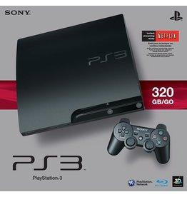 Playstation 3 PS3 Playstation 3 Slim System 320GB (CiB, USED)