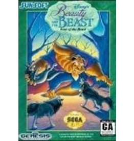 Sega Genesis Beauty And The Beast Roar of the Beast (Cart Only)