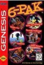 Sega Genesis 6-Pak (Cart Only)