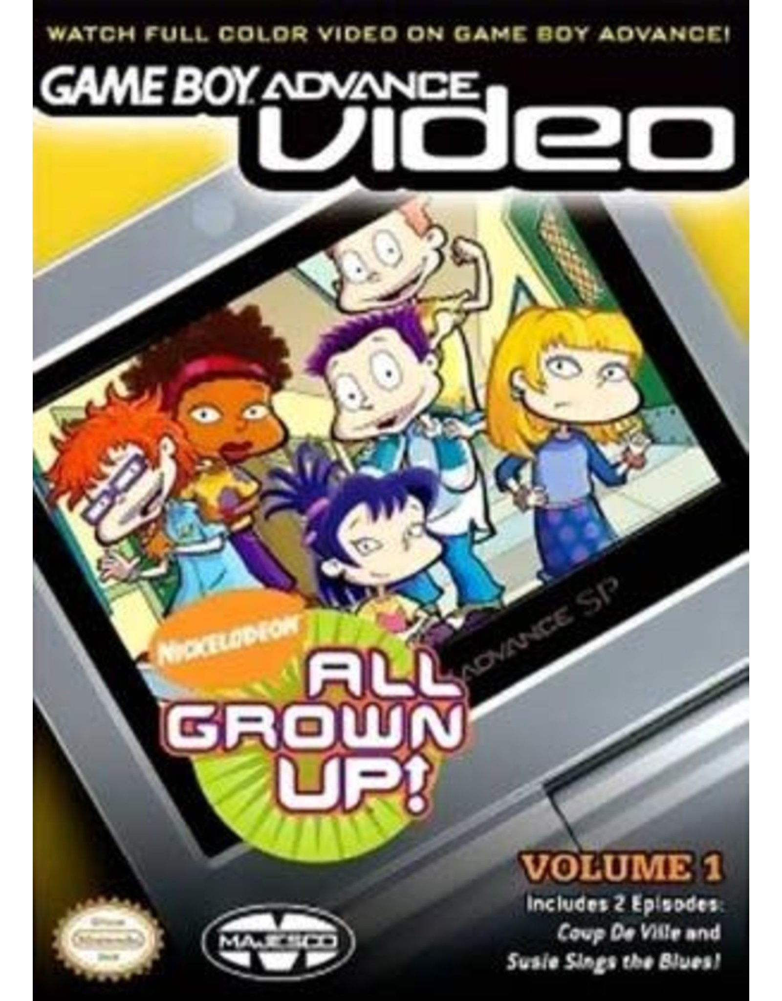 GameBoy Advance All Grown Up Volume 1 (Cart Only)