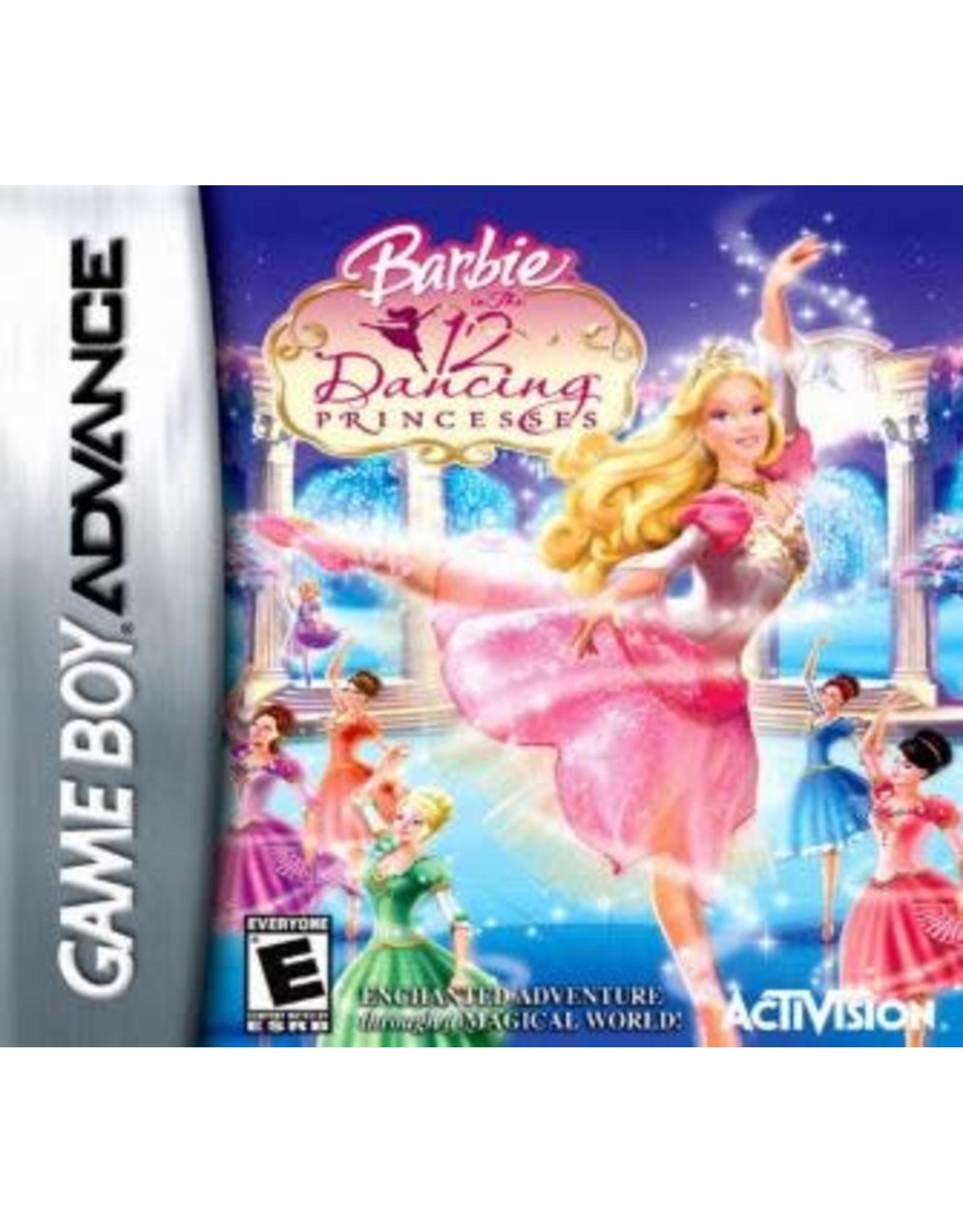 GameBoy Advance Barbie 12 Dancing Princesses (Cart Only)