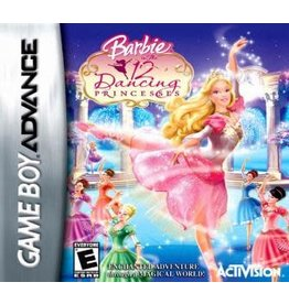 GameBoy Advance Barbie 12 Dancing Princesses (Cart Only)