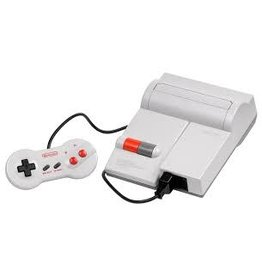 NES Top Loading Nintendo NES Console (One Controllers + Super Mario Bros. Duck Hunt, Dragon Warrior, Skate or Die)