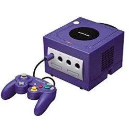 Gamecube GameCube Console (Indigo, Black Controller, Used)