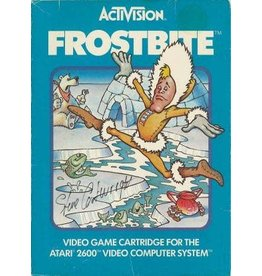 Atari 2600 Frostbite (Cart Only, Damaged Label)